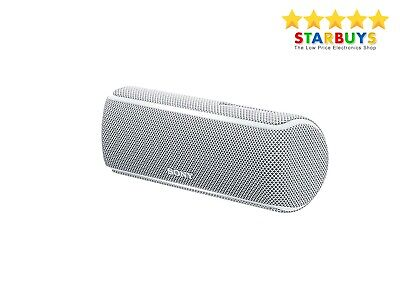 Sony SRS-XB21 Portable Wireless Bluetooth Party Speaker with LED Lights - white