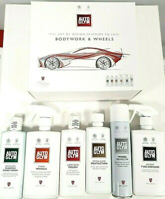 Autoglym Perfect Bodywork And Wheels Gift Collection Interior Car Care Clean Set