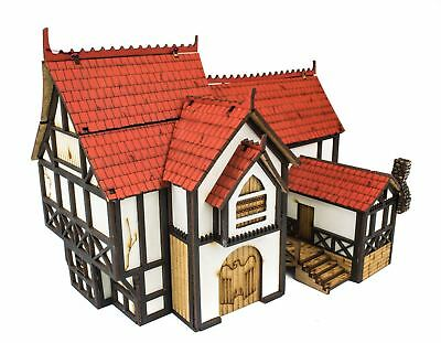 WWG Medieval Town – Manoir 28mm – Wargaming, Maquettes, Dioramas
