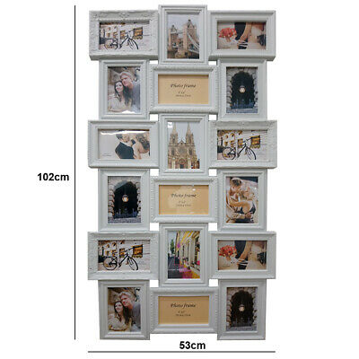 Large Contemporary 18 Wall Mounted Multi Photo Frame Family Friend Love Memories
