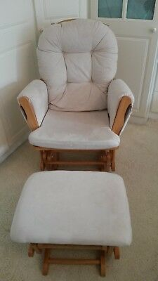 Kub Haywood Glider Nursing Chair & Footstool