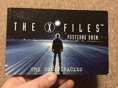 X-files postcard book The Conspiracies 1996