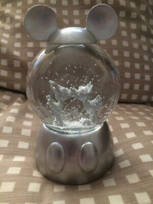 Primark Disney Mickey & Minnie Snow Globe Limited Edition