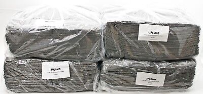Heavy Duty UP50MB Sonic Bonded Universal Oil Chemical Absorbent Pads Box of 200
