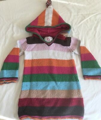 Baby Gap Hooded Sweater Pullover ~ Girls Size 2T ~ Adorable Long Warm