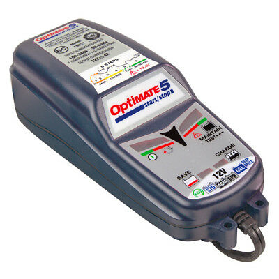 Optimate 5 Motorcycle Motorbike Battery Charger Maintenance