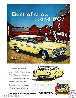 1959 Desoto Fireflight Wagon Advertisement  8 x 10 Giclee print