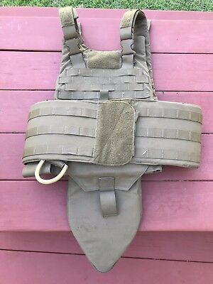 USMC Tactical Plate Carrier W all soft Inserts