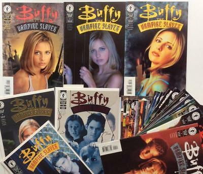 Buffy The Vampire Slayer #1 to #63 complete including signed and limited issues