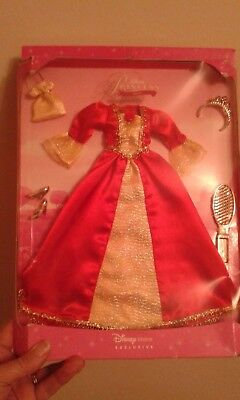 Disney Store Belle red dress dress,  outfit in box