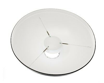 """Bowens 21"""" Beauty Dish (white) BW-1900 + Generic Diffuser - Excellent"""