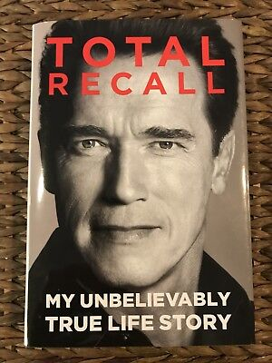 Arnold Schwarzenegger Signed Autograph Total Recall 1St Edition Book Hard Cover