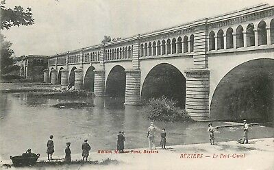 Cp Beziers Pont-Canal Anime