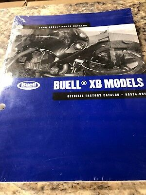 Buell 2009 XB Models Parts Catalog 99574-09Y