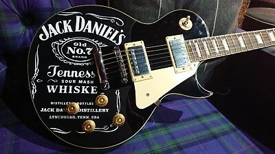 Limited Edition Jack Daniels Customised Electric Guitar