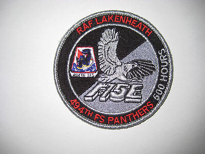 USAF Patch 494th Fighter Squadron 500 hour patch
