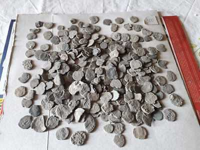 Lot Of 300 Ancient Roman Bronze Coins Low Quality Uncleaned