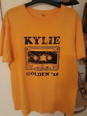 Kylie Minogue Vintage Cassette Shirt GOLDEN TOUR MERCH