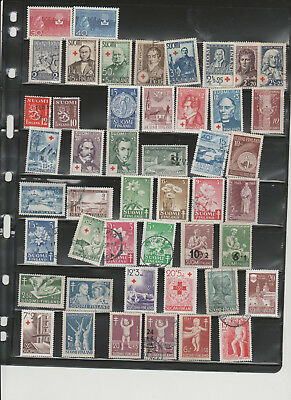 Finnish Used and Mint, Nice collection.