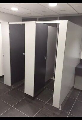 Toilet Cubicles , quality aluminium fittings £195 net. £234 inc vat per cubicle