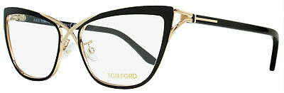 f640d78ae6 Tom Ford Butterfly Eyeglasses TF5272 005 Size  53mm Rose Gold Black FT5272
