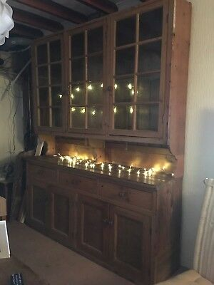 Very Large Pine Farmhouse Dresser Unit