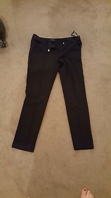 Black top shop Maternity Trousers Size 8