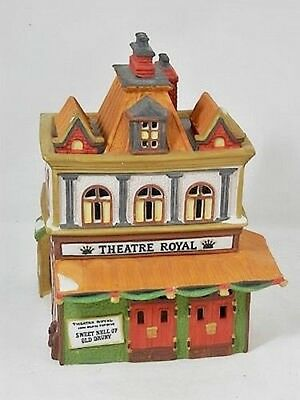"Department 56 Dickens' Village Series, ""Theatre Royal"", 1989, Retired"