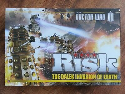 Doctor Who The Dalek Invasion Of Earth Risk Board Game Brand New Sealed Bbc