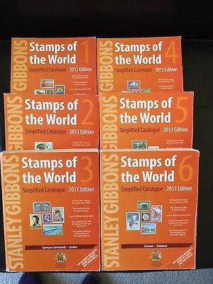 Stanley Gibbons Stamps Of The World.  Simplified Catalogue. 6 Volumes