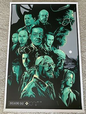Breaking Bad - Ken Taylor Art Print - Numbered xx/300 - MINT!