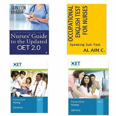 Occupational English Test Nurse Books in PDF + OET grammar book + free samples