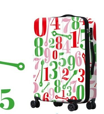 D485 Lock Universal Wheel Number ABS+PC Travel Suitcase Luggage 20 Inches W