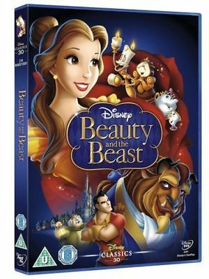 Beauty And The Beast Disney Dvd - Brand New Sealed - White Classics