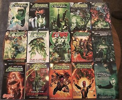 Green Latern TPB Collection (15 Books)