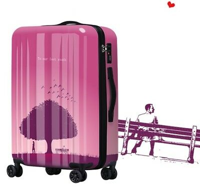 D256 Fashion Universal Wheel ABS+PC Travel Suitcase Luggage 20 Inches W