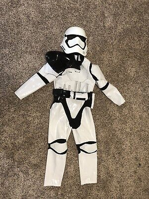 Disney Store NWT Star Wars First Order Stormtrooper Costume Child size 11-12