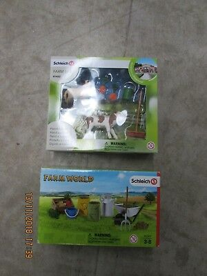 Schleich Farm Life #41422 Lamb Calf and 42301 set Sealed 2pc Lot