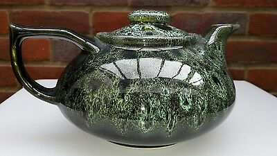 Vintage Studio Art Pottery Ware - Tea Pot - Foster's Studio Cornwall