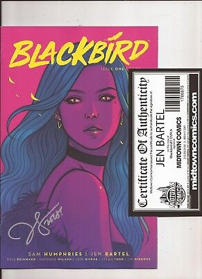 Blackbird #1 Image Comics Signed by Jen Bartel with COA 1st Print
