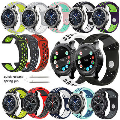 22MM Silicone Sport Bracelet Strap Watch Band For Huawei WATCH GT/WATCH 2 Pro