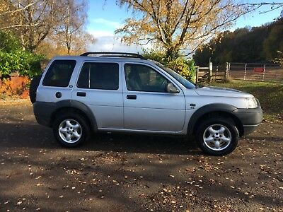 Land Rover Freelander Td4 GS 5 Door Diesel Automatic 4x4 MOT Spares or Repairs