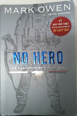 NAVY SEAL AUTOBIOGRAPHY Book,