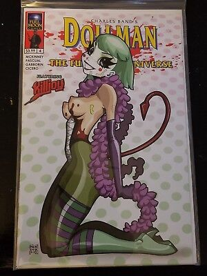 Dollman Kills The Full Moon Universe #4 Risque Nude Dan Mendoza Variant Killjoy