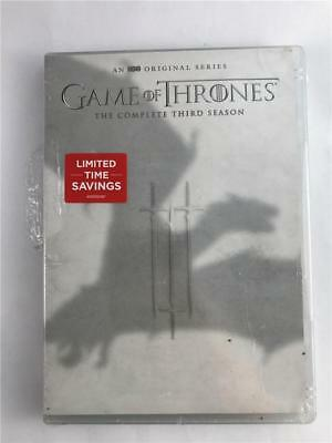 NEW Game of Thrones: The Complete Third Season (DVD, 2017, 5-Disc Set)