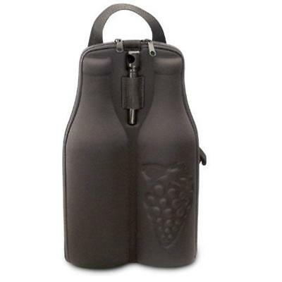 Insulated Wine Tote, 2 Bottle Wine Carrier, Wine Bag, Wine Gift Tote, Wine Carry