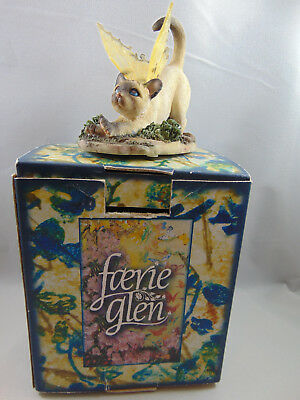 Faerie Glen Cat Duchess White with Wings