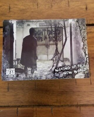 Topps 2018 The Walking Dead Road To Alexandria Full Complete 100 Card Base Set
