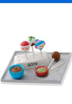 Hallmark 2014 * Season's Treatings * Cake Pops * 6Th In The Series * Ornament