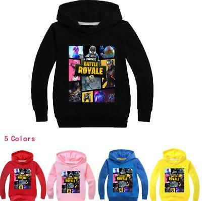 Fortnite Battle Royale llama Kids Hoodie Kids Boys Sweatshirt Clothing 2-11Years
